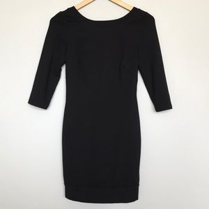 Trina Turk Black low back dress